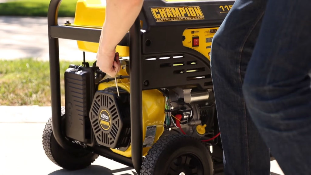 How to start your portable generator?