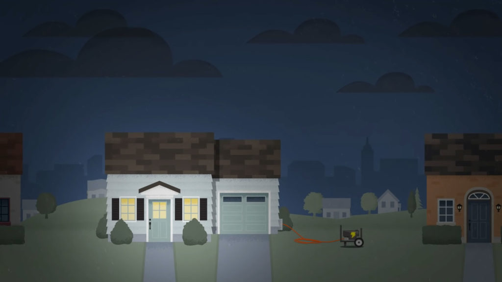 use home generator during a power outage